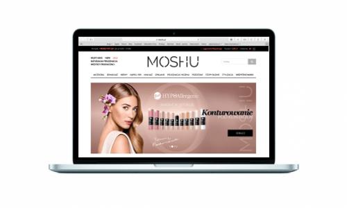Moshu.pl - nowoczesny sklep internetowy z kosmetykami