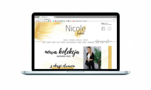 Nowy sklep internetowy dla nicolefashion.pl