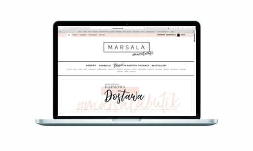 Marsala-butik.pl z nowym sklepem online od Medializer
