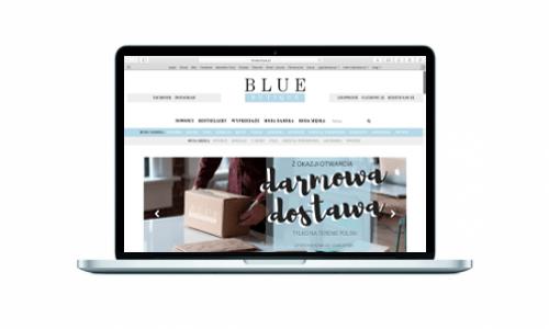 Bluebutique.pl z nowy sklepem online od Medializer
