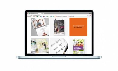 Strona internetowa dla Studia Graficznego Lewańczyk