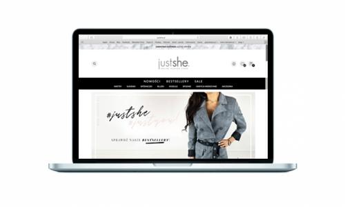 JustShe.pl z nowym sklepem online od Medializer