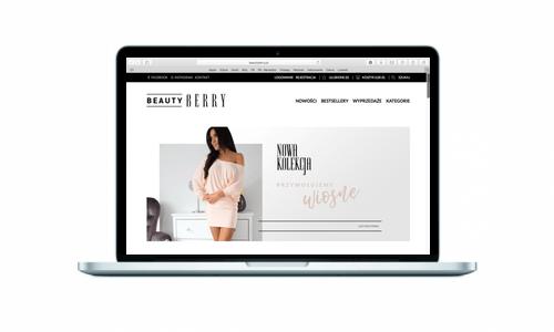 Beautyberry.pl - nowy butik online od Medailizer