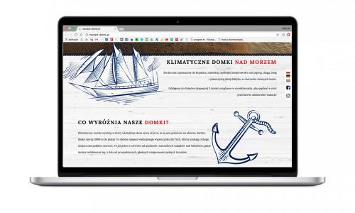 Nowa strona internetowa dla Morskich Domków w Kopalinie
